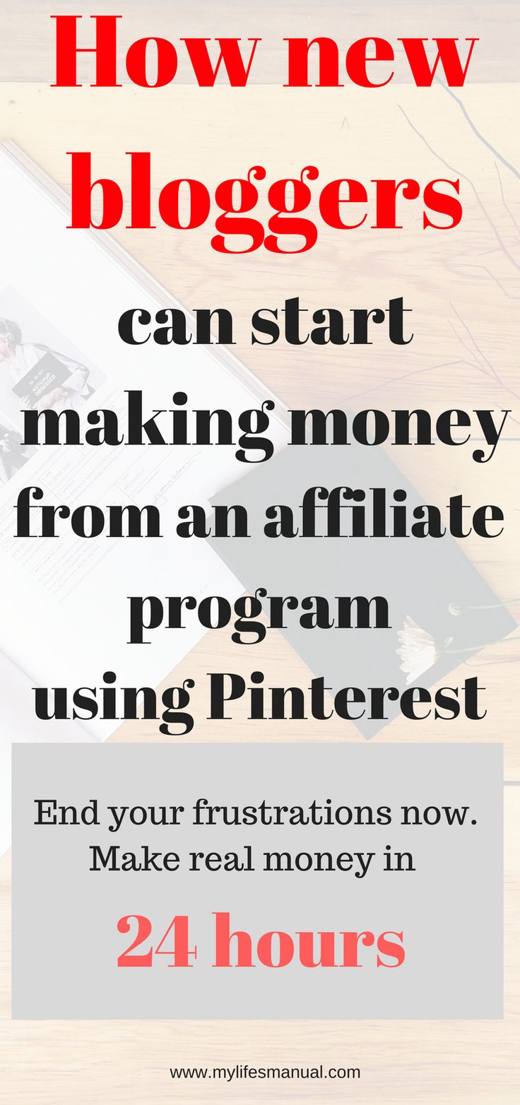 How new bloggers can earn money, Successful blogging tips. Affiliate marketing tips. Earn money using Pinterest. Make money at home.(affiliate link)
