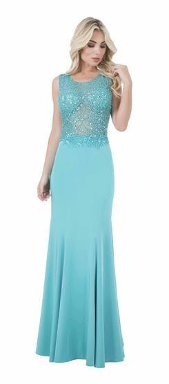 Vestido com bordado Lyra