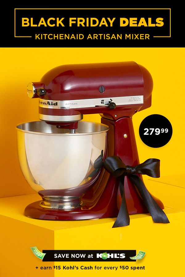 Shop Black Friday Home Deals At Kohl S Planning To Bake Some
