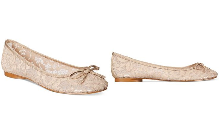 Adrianna Papell Sage Lace Evening Flats - Evening & Bridal - Shoes - Macy's