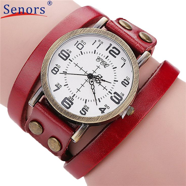>> Click to Buy << HF 2017 Luxury Brand Vintage Cow Leather Bracelet Men Women Wristwatch Ladies Dress Quartz Watch masculino relogio feminino JA07 #Affiliate