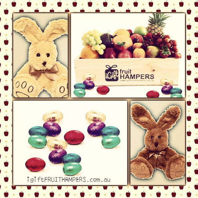 12 best easter images on pinterest basket of fruit fruits easter hampers delivered across australia free delivery easter eastersunday love negle Image collections