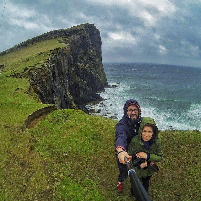 Neist point. Scotland. GoPro