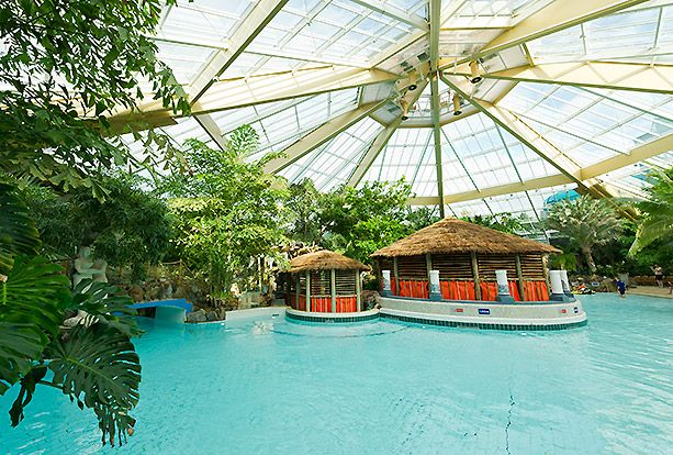 Subtropical Swimming Paradise Elveden Forest Center Parcs Vakantie Engeland 2014
