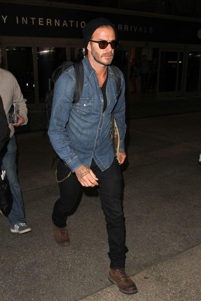 Descubre los mejores looks de David Beckham.