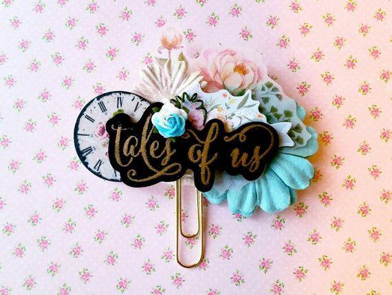 Beaute OOAK Tales of Us Floral Paperclip  Copper by FreshlyPink