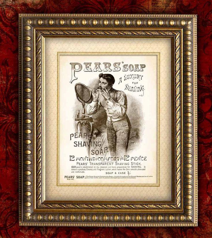 Vintage Bathroom Wall Decor 143 best vintage pear soap images on pinterest | pear, vintage ads