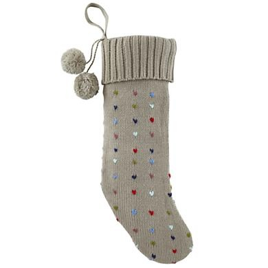 Pick Stitch Stocking - loving cable knit stockings and land of nod!
