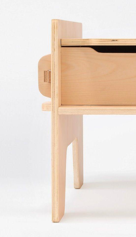 Wedge by Sebastian Bergne for Muji  #Muji #SebastianBergne #furniture #flatpack #wedge