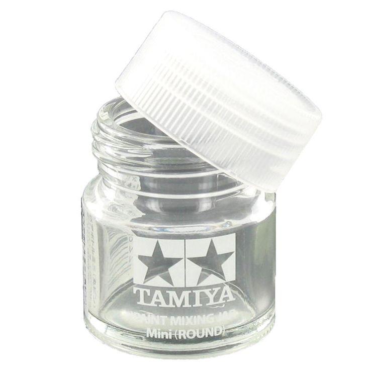 Tamiya Paint Mixing Jar With Lid