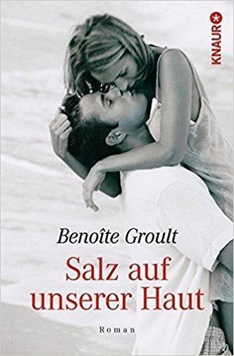 """Ich wähle für den Geburtstag meiner Webseite – und damit meine ich den öffentlichen Auftritt mit Texten, die ich lange zurückgehalten habe – Benoîte Groult mit ihrem Buch """"Salz auf unserer Haut"""". Auch Benoîte hat ihr Buch zurückgehalten. Sie veröffentlichte das Buch als sie bereits über sechzig Jahre alt war und wurde für die Veröffentlichung von freizügiger Literatur sehr kritisiert."""