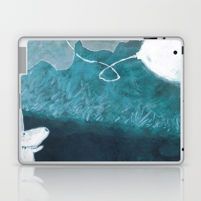 moon baloon Laptop & iPad Skin by stefania coniglio - $25.00