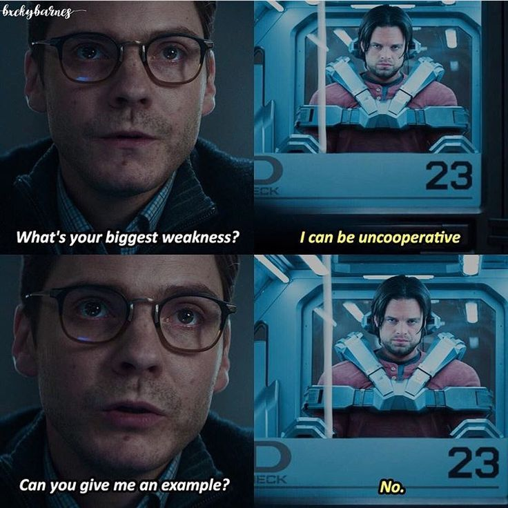 Jep. He is my favorite. Totally. Buck, I know Young dont want to kill anyone but can you please murder zemo?