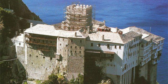 VISIT GREECE  Monastery of Dionysiou in #Athos #Macedonia #Greece