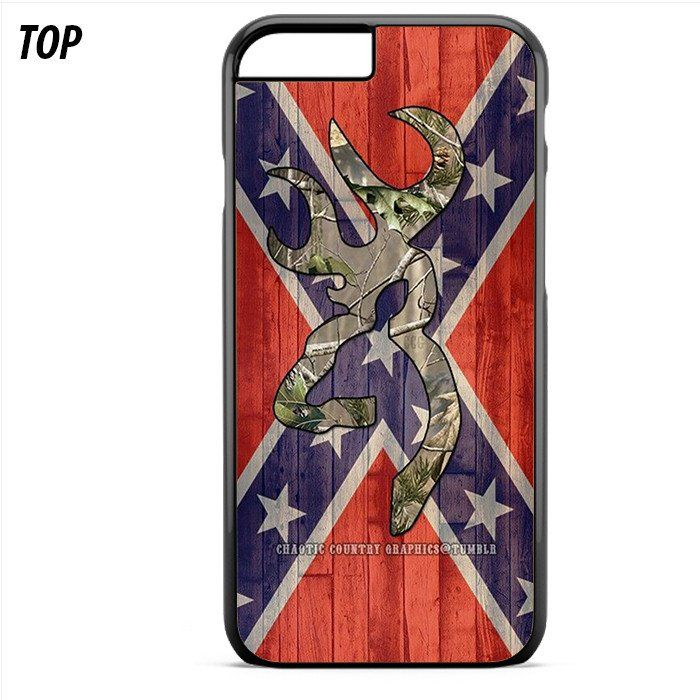 Confederate Rebel Flag Browning Camo For Iphone 6 Plus | 6S Plus Case