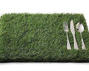 Artificial Grass Placemats 12 X18 Grass Placemats Artificial Grass Artificial Turf