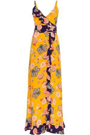 4c8d0cdb974d8c RACIL Silk Geisha Floral Maxi Dress