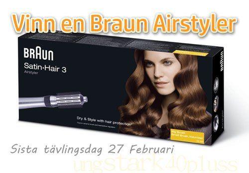 Tävling - Vinn en Braun Satin Hair 3 Airstyler