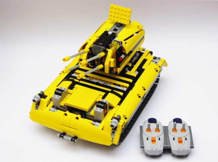 Tank / Carroarmato  Derivato da Lego Technic 8043
