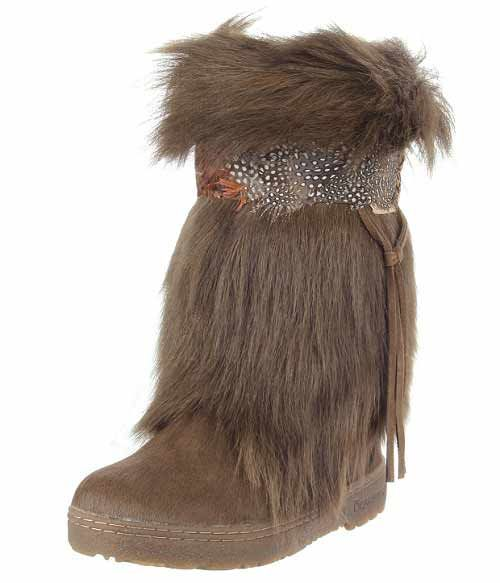 Winter Boots for Women | Artic Kola furry winter boots for women 2014