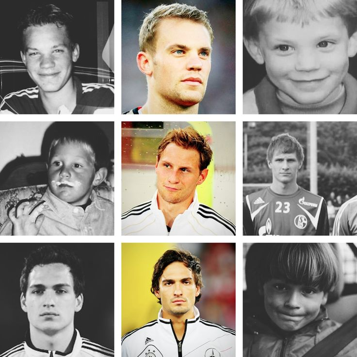 DFB Players Then and Now Part 5