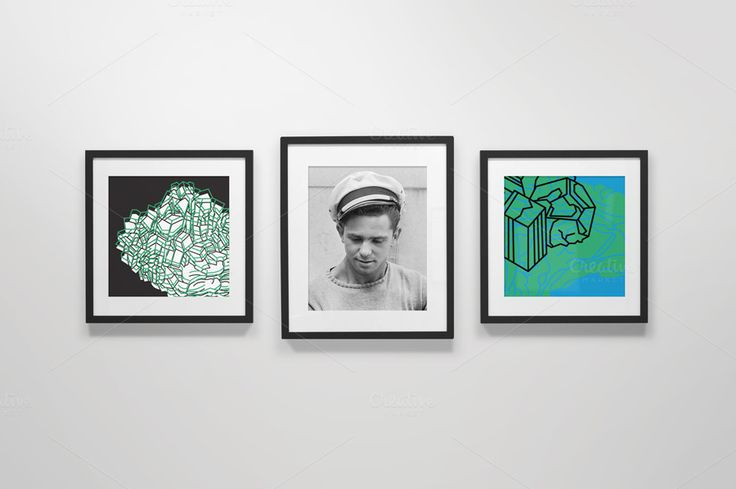 Frame Gallery Mockup - 02 by Shebam Products on Creative Market