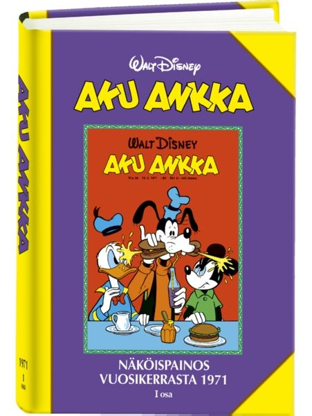 Aku Ankka: Näköispainos vuosikerrasta 1971, osa 1