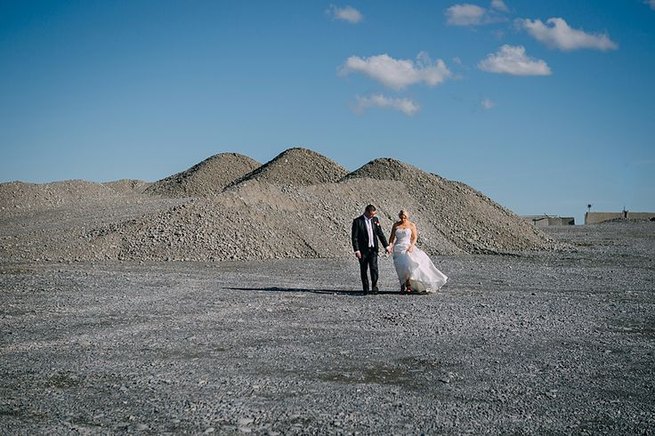 We snuck out to Phils at a quarry for some cool pictures:  http://www.teganclarkphotography.com/blog/yvonne-phil-married