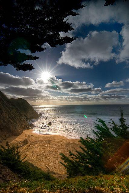 Gray Whale Cove ligger lidt uden for San Francisco.  #Roadtrip #bryllupsrejse #bryllupsfeber  http://bryllupsfeber.dk/billig-bryllupsrejse/billig-bryllupsrejse-til-usa/