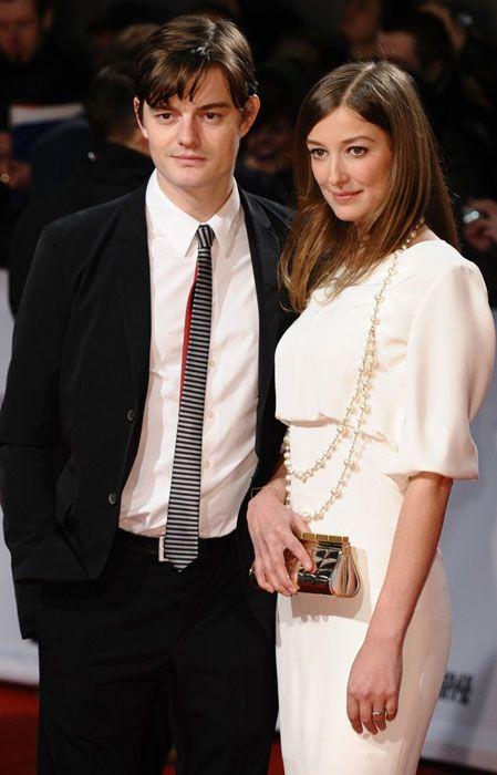 English actor, Sam Riley with Alexandra Maria Lara...