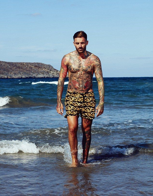 Life's a beach: Geordie Shore star Aaron Chalmers spoke to MailOnline ahead of his Ex On The Beach debut - discussing his feud with Jodie Marsh, his fraught relationship with ex Marnie Simpson and why his romance with Lauren Pope came to an end