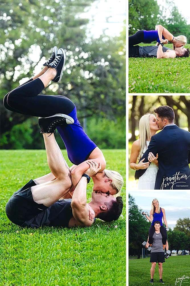 Most Creative Themed Engagement Photos ❤ See more: www.weddingforwar… #weddi…