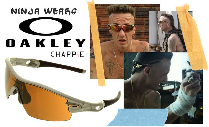 Ninja Chappie sunglasses Oakley Radar Pitch