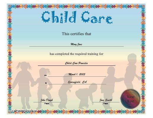 Childcare Courses - Online Training.com.au