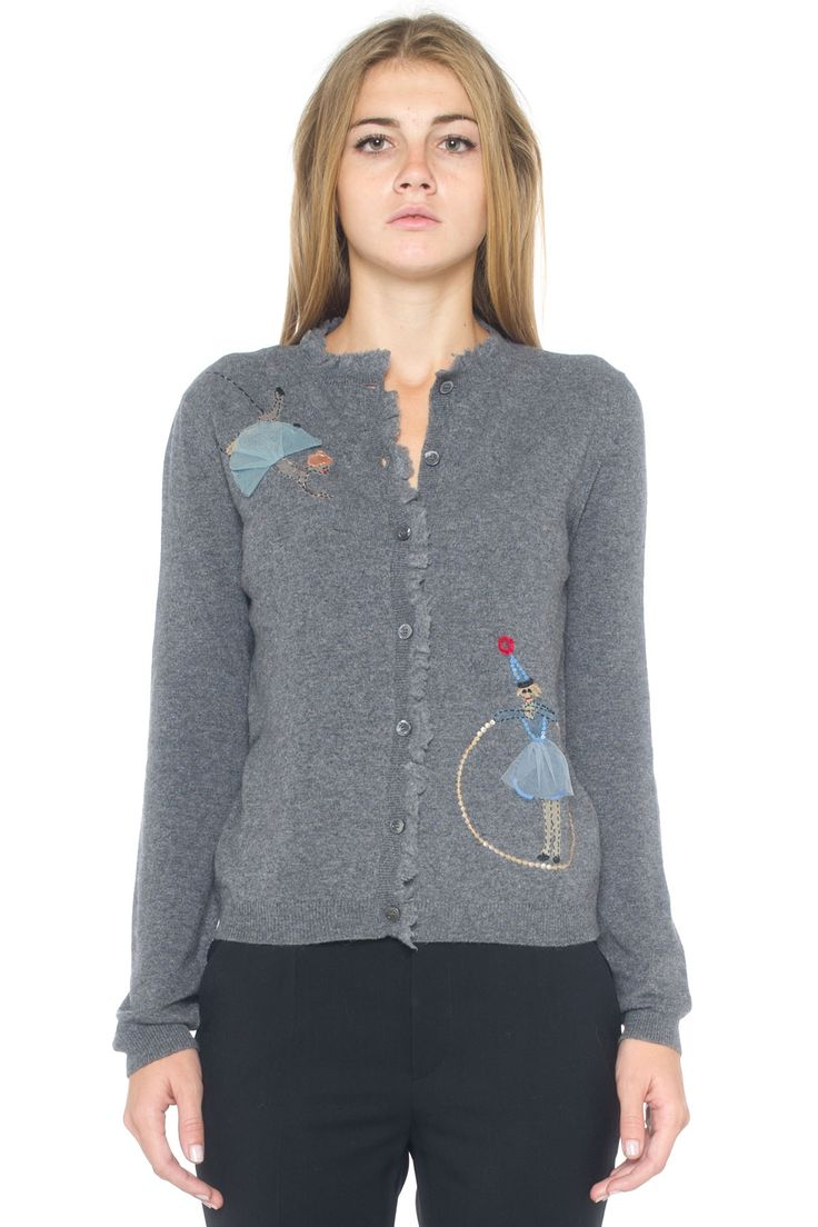 Knit cardigan - Euro 515   Red Valentino   Scaglione Shopping Online