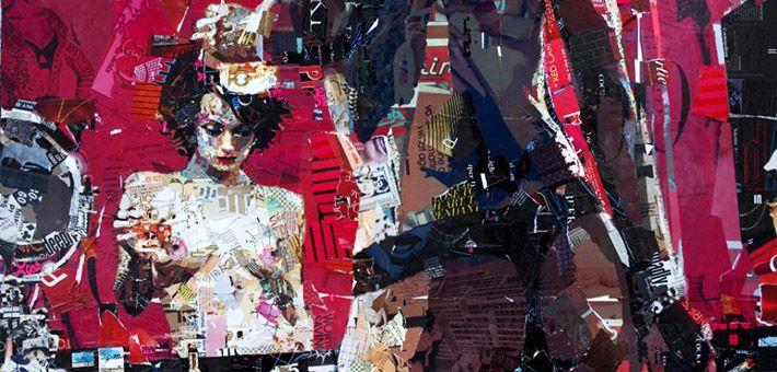 Derek Gores – Περίτεχνα έργα τέχνης φτιαγμένα από κολάζ [Pics & Vid]