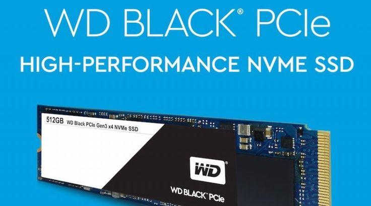 SSD WD Black PCIe