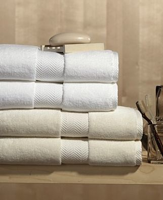 Hotel Collection Finest Towels (look for at TJ Maxx, etc.)