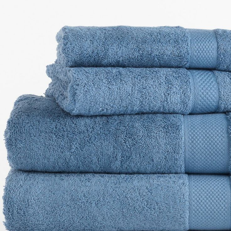 This one item will make your bathroom feel new again! Refresh with our 630gsm Egyptian Cotton Towel collection (shown here in Blue). Ultra soft & absorbent these towels will add a touch of everyday opulence without the price tag! Bath towels from just $11.95 each.