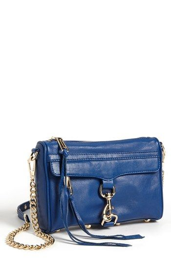 Great size!  Just enought room to fit the essentials.  Think it is too small no worries we can get the the regular MAC!  Rebecca Minkoff 'Mini M.A.C.' Shoulder Bag available at #Nordstrom