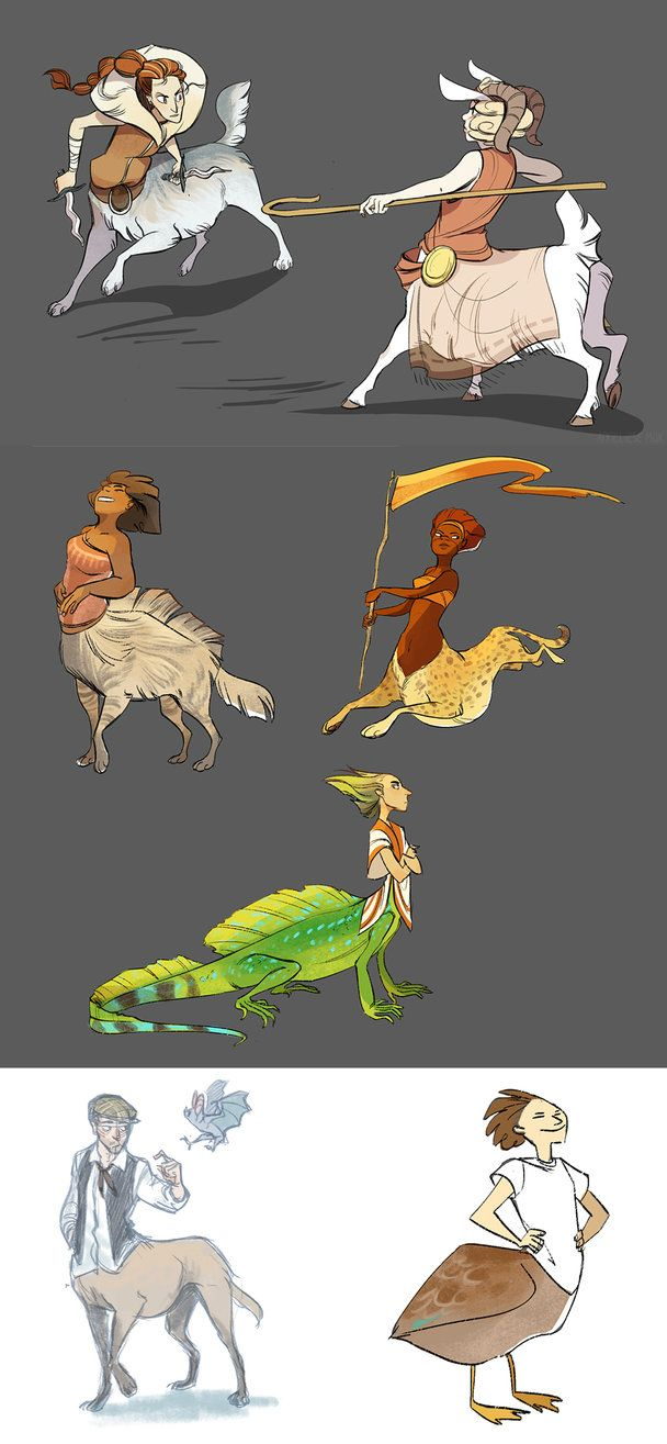 taurs by scrii on DeviantArt