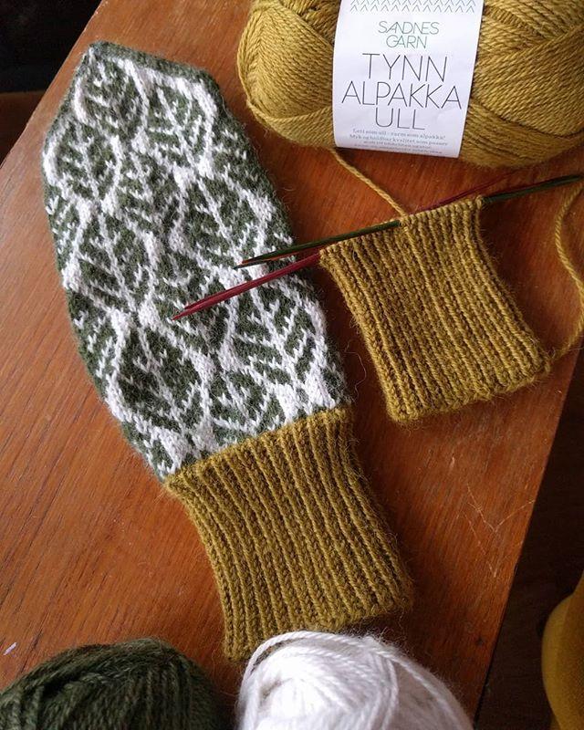 Lilian Irisdotter i Piteå har gjort mönstret till och stickat vantarna som hon kallar Lingon, och det är inte svårt att se var namnet kommer ifrån. Det går förstås även att förvandla lingonvanten t…