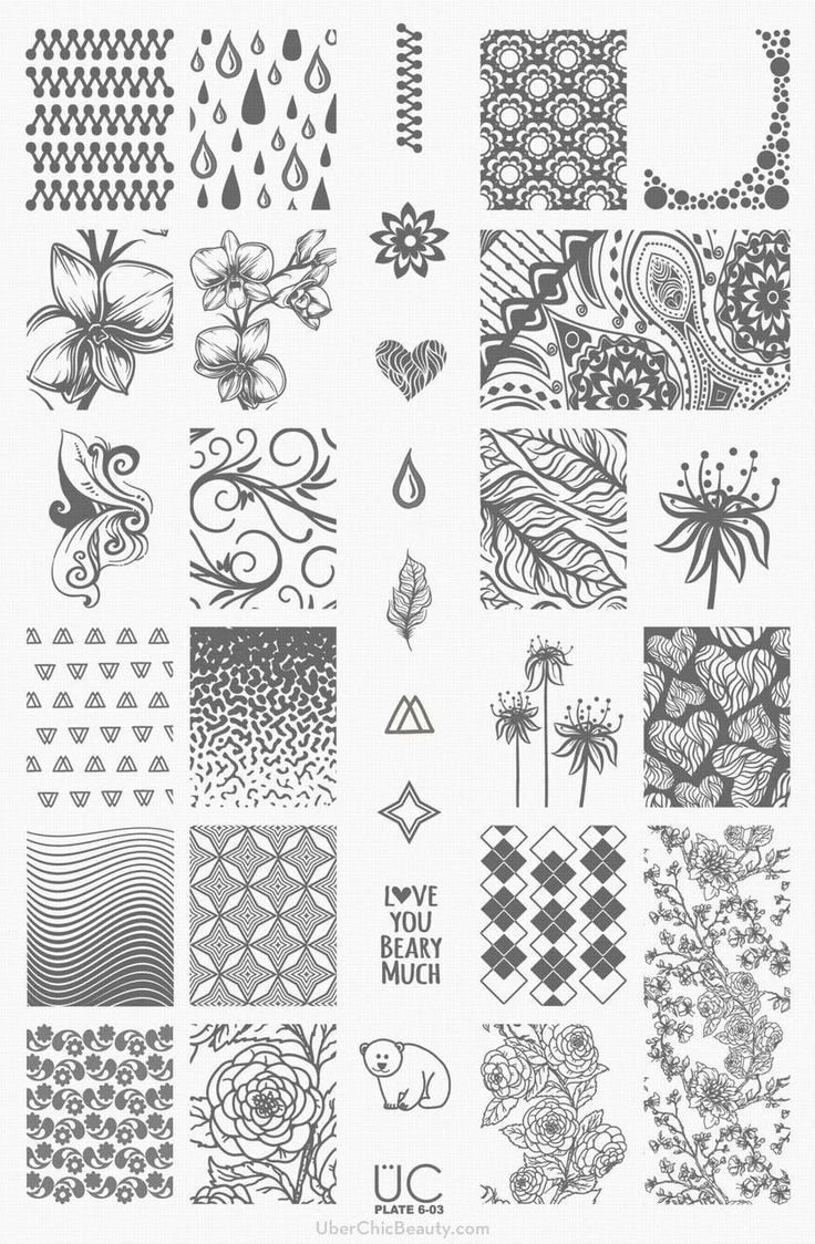 55 best Stamping plates images on Pinterest | Image plate, Nail art ...