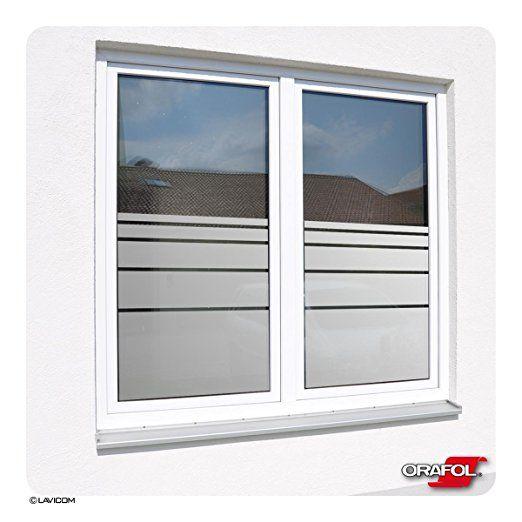 Sichtschutzfolie Satiniert Glasdekorfolie Fensterfolie Dynamische Streifen Kostenlose Massanfertigung Siehe 2 Produktbild