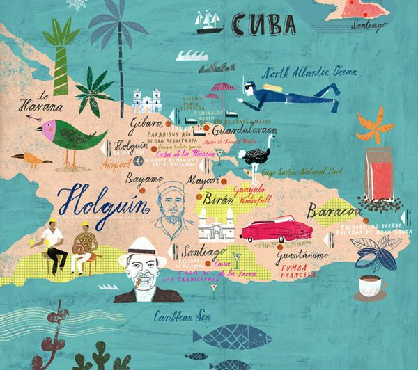 Travel illustrations by Martin Haake | Art and design inspiration from around the world - CreativeRoots