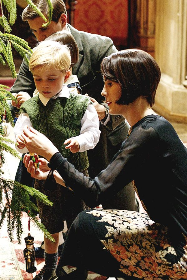 This vignette from Downton Abbey captures the preciousness of those faraway days.