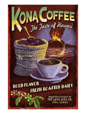 Kona Coffee- best.coffee.ever. (besides maui mokka)