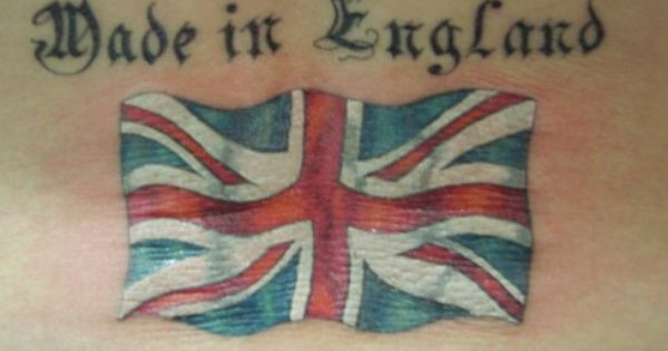 Made In England Tattoo 23 Best Uk Flag Tattoos British Tattoo Union Jack Tattoo English Tattoo