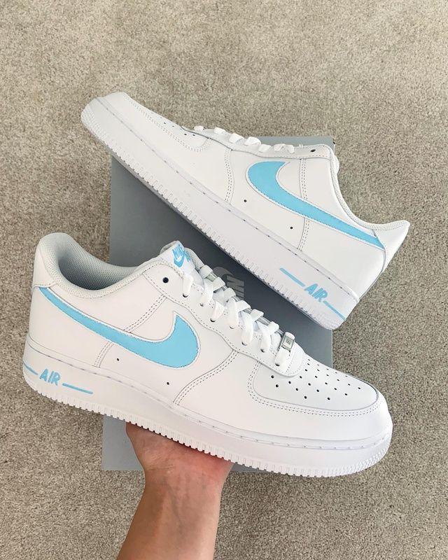 Nike shoes blue