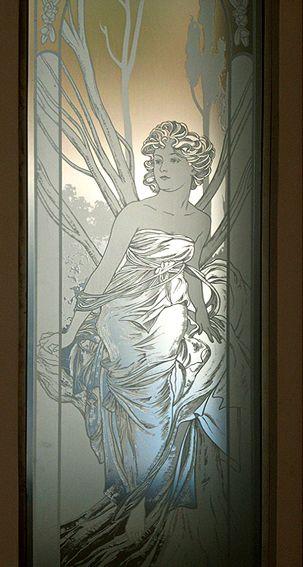 artes de vidrio Vidrio grabado al ácido